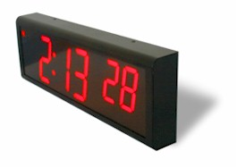 networked digital wall clock using ntp