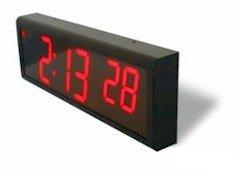 Radio Controlled Digital Wall Clock atomicclockgalleoneucom