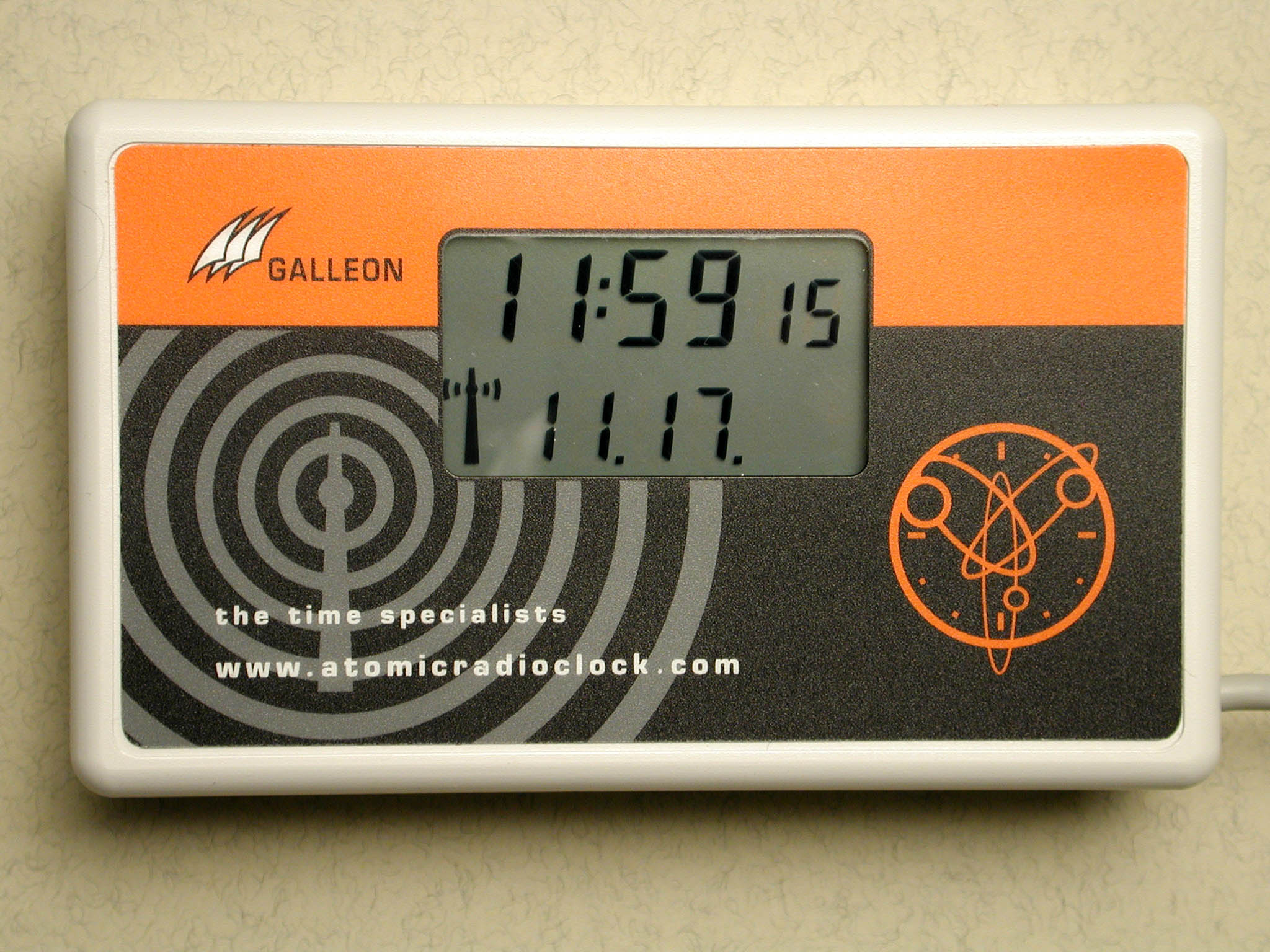 pc atomic clock